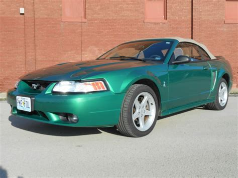 1999 Mustang Svt Cobra Convertible 44k Low Miles 2 Owner 1