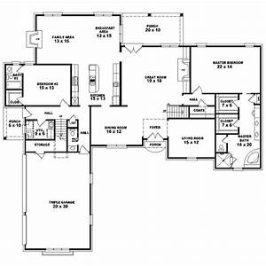 4 Bedroom e Story House Plans