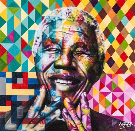eduardo kobra s portraits of famous humanitarians and