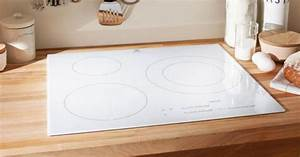 Plaque De Cuisson Blanche : plaque de cuisson vitroc ramique blanche ~ Dailycaller-alerts.com Idées de Décoration