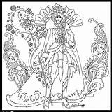Coloring Queen Snow Adult Adults Sheets Printable Warrior Getcolorings Stunning Flower sketch template