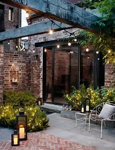 Lichterkette terrasse einfach terrasse bauen zum gamelog for Terrasse einfach bauen