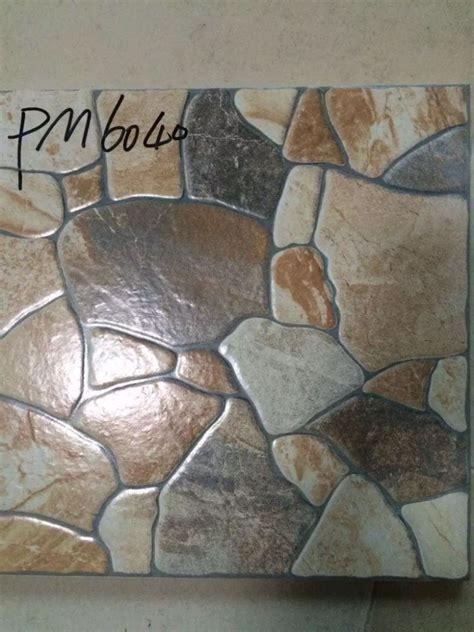 400x400mm antislip keramische tegel lijkt steen tegels