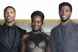 Black Panther's Chadwick Boseman and Lupita Nyong'o share ...