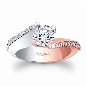 barkev39s white rose gold engagement ring 7928lt barkev39s With rose and white gold wedding rings
