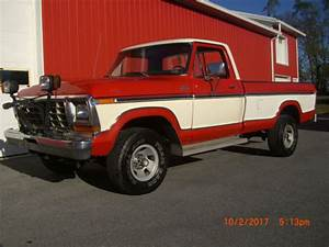 Ford Truck F 150 4 Speed 4 Wheel Drive 300 6 Cylinder With