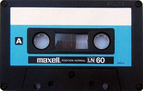 maxell cassette a gallery of vintage blank audio cassette