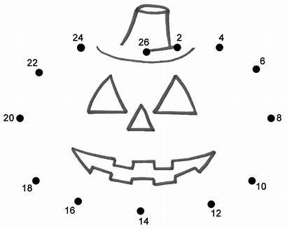 Dots Connect Pumpkin Dot Halloween Preschool Jack