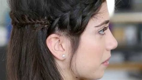 bumble and bumble hair styles the half crown braid how to bumble and bumble second day 6336