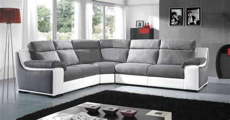 canape cuire canapé d angle en cuir ou tissu avec bibliothèque