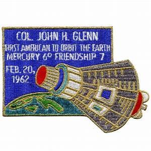 John Glenn Commemorative #2 – Space Patches