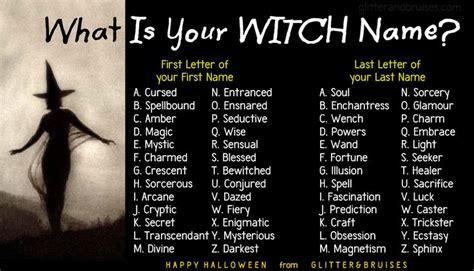 witch names quizzes generator fun