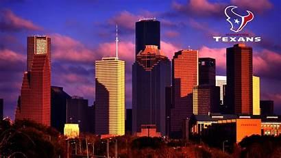 Houston Texans Tx Background Wallpapers Skyline Texas
