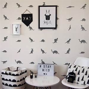 Dinosaur wall stickers by parkins interiors for Nice ideas dinosaur decals for walls