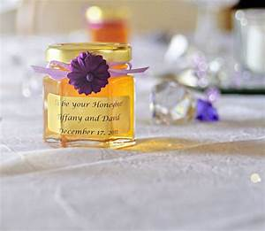 homemade diy honey jar wedding favor ideas that are inspired With honey sayings for wedding favors