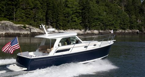 Back Of A Boat by Images Of The Back Cove 30 East Motor Boat Built In
