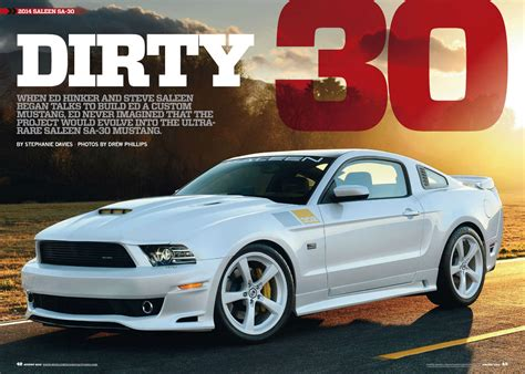 featured  august  issue  muscle mustangs fast