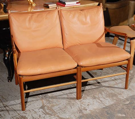 2 seater settees for sale ole wanscher two seater settee for sale at 1stdibs