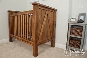 DIY Crib – DIYstinctly Made