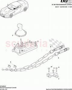 Aston Martin Dbs V12 Manual Transmission Controls Parts