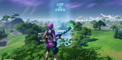 time   fortnite star wars  event today