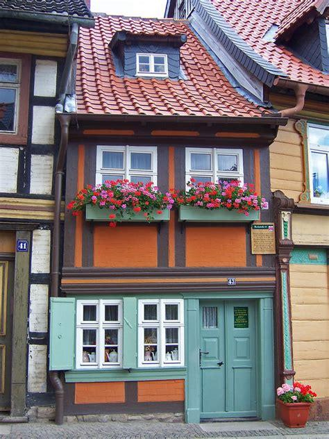 Wernigerode  Kleinstes Haus Foto & Bild Deutschland