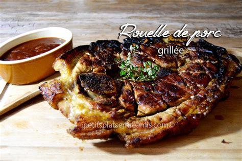 cuisiner au barbecue rouelle de porc grillée petits plats entre amis