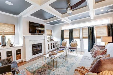 coffered ceilings  blended patterns   stars