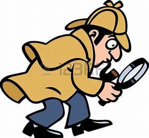 Gallery For > Reading Detective Clipart