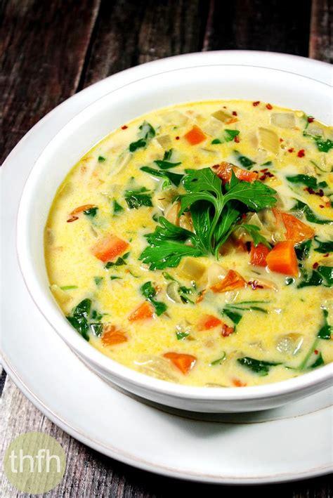 vegan vegetable soup creamy vegan vegetable minestrone soup the healthy