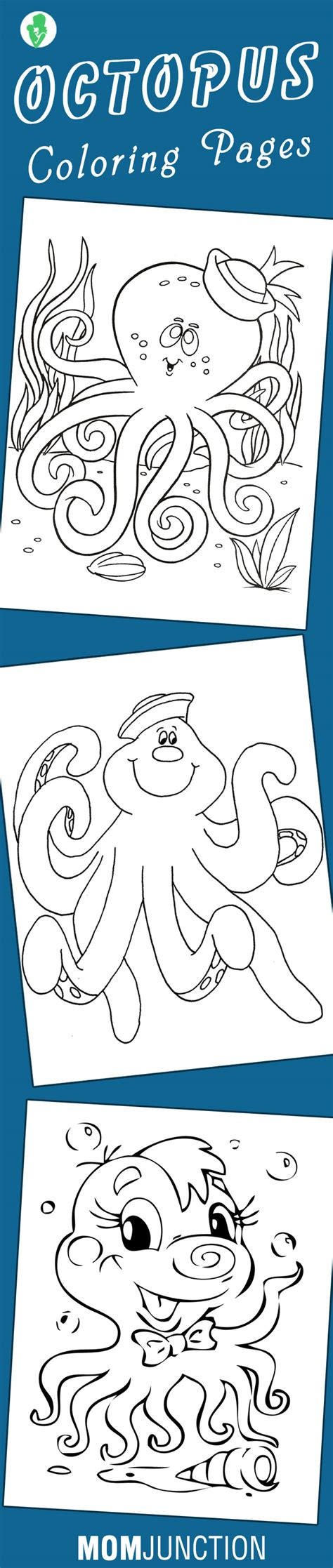 top   printable octopus coloring pages