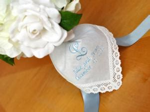 image gallery monogrammed handkerchiefs how to wrap a wedding bouquet with a personalized handkerchief