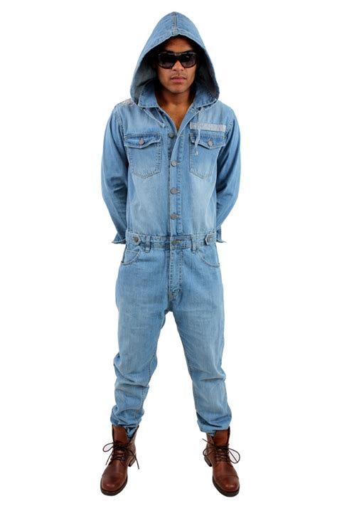 mens denim jumpsuit the gallery for gt jean jumpsuits for