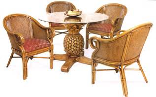 rattan and wicker dining room furniture sets dining
