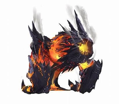 Fire Monsters Dnd Monster Fantasy Spirit Cool
