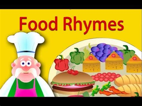 food rhymes collection nursery rhymes for children 653 | hqdefault