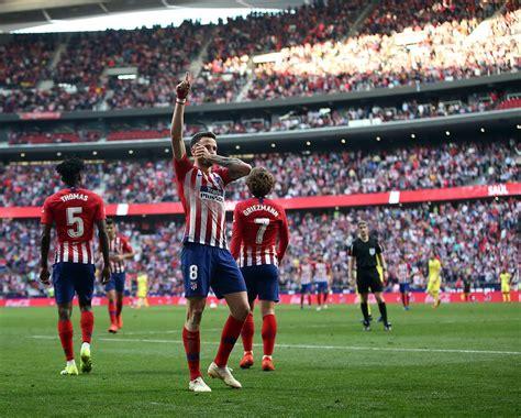 Atlético De Madrid X Villarreal - Atletico De Madrid ...