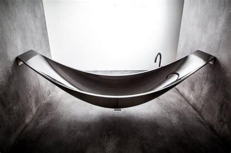 Hammock Tub by Splinter Works Vessel Hammock Bathtub Extravaganzi