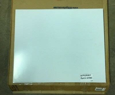 ge dishwasher door panel cover white wdx  ship ebay