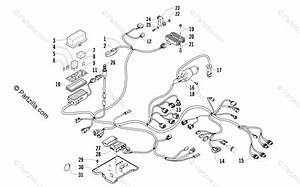 Arctic Cat Atv 2012 Oem Parts Diagram For Wiring Harness