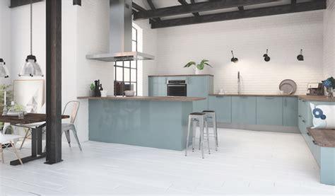 cuisine bleu clair cuisine couleur pastel bleu clair ou vert clair déco mlc