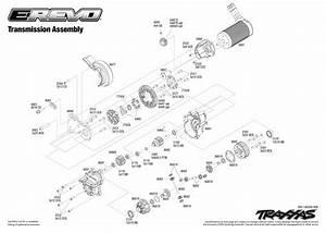 Traxxas E-revo 2 Spare Parts