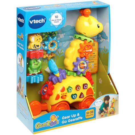 baby bureau vtech vtech baby gearzooz gear up go gearaffe toys zavvi