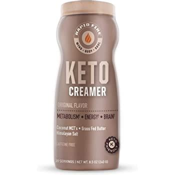 Drink water, sparkling water, tea, or coffee instead. Amazon.com: Rapid Fire Ketogenic Creamer with MCT Oil for Coffee or Tea, Supports Energy and ...