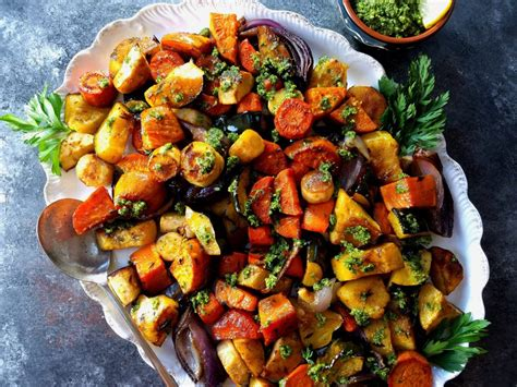 Balsamic Roasted Root Vegetables  Give It Some Thyme