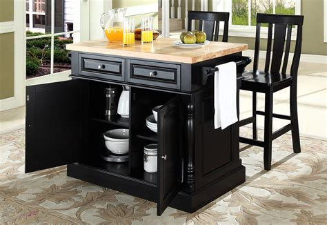 black island kitchen buy butcher block top kitchen island with black x back stools