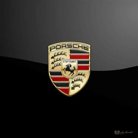 porsche logo black background porsche emblem images www imgkid com the image kid has it