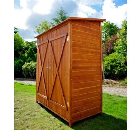 ripostigli in legno da giardino outsunny casetta per esterno in legno ripostiglio da