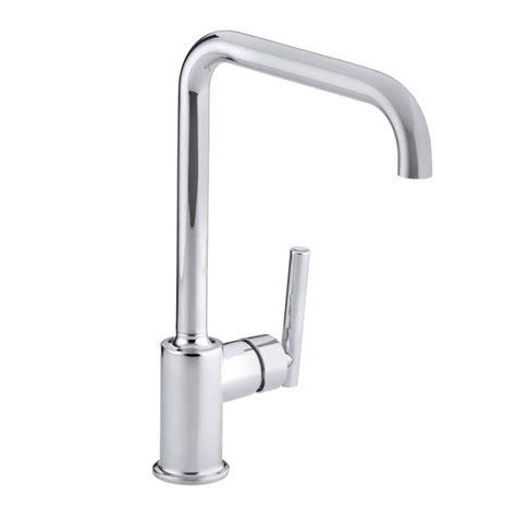 kohler kitchen faucets home depot kohler purist single handle kitchen faucet