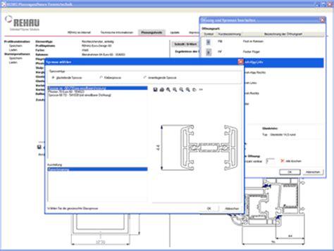 fensterdichtungen für kunststofffenster fenster planungssoftware f 195 188 r mit rehau fensterbausoftware fenstersoftware